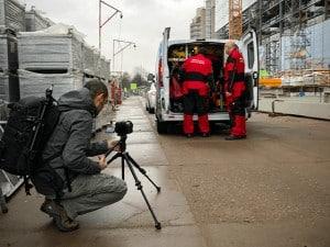 Filmen voor bedrijfsfilm MBS 1 - Bureau Beeldrijm